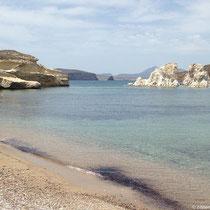 Der Strand von Mavrospilia