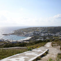 Der Hafen von Agios Stavros