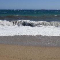 Die Welle sehen massiv aus
