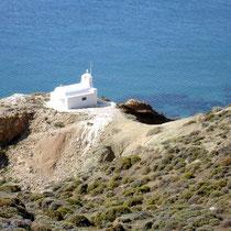 Anafi: Kapelle