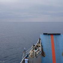 Kreta: Auf hoher See