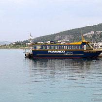 """Das lokale Boot, die """"Agistri Express"""""""