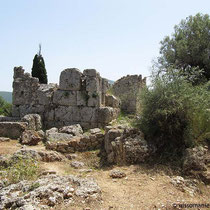 Die Ruine der Kapelle