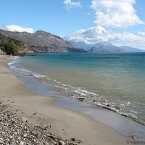 Der Strand von Korakas