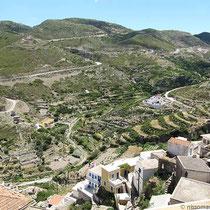 Blick aufs Tal im Osten