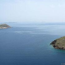 Patmos in der Ferne