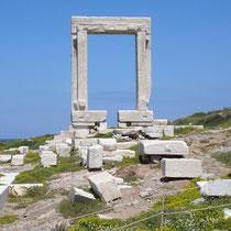 Naxos: Tempeltor