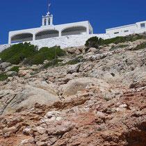 Die Kirchen wie ein Balkon