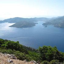 Die Bucht von Vathy...