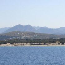 Die Berge von Naxos