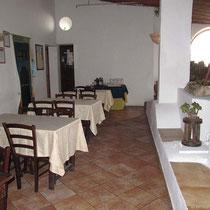 Im Ristorante Villa la Rosa