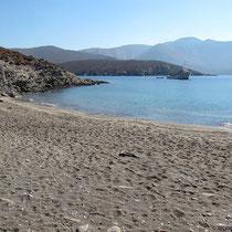 Der Strand von Grammata