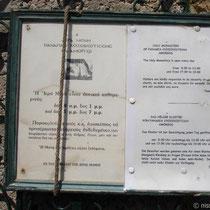 Amorgos: Bedienungsanleitung Kloster Chozowiotissa