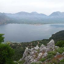 Mytikas und die akarnanischen Berge