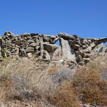 Und auch wieder Trockensteinmauern