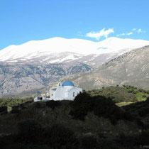Kapelle nördlich von Mandres