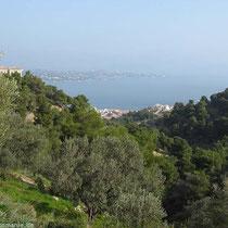 Blick auf Spetses-Stadt