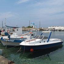 Im Hafen von Gialiskari