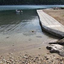 Eckiges Ufer