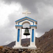 Kreta: Turm der Kapelle von Agios Stavros