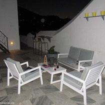 Der untere Balkon - ok, ist im Sommer gemütlicher