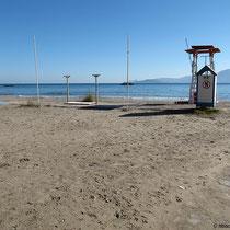 Baywatch am Almyros-Strand