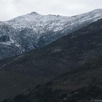Weiße Berge hier?