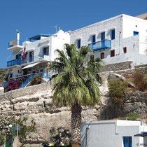 Haus über dem Hafen