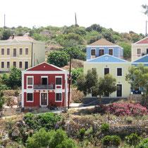 Neue Häuser auf der Zwischenetage