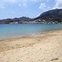 Der Strand von Livadi
