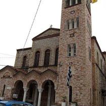 Kirche Agios Minas in Salamina-Stadt