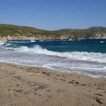 Der Strand von Stomio