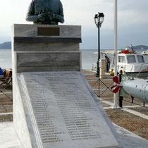 """Denkmal für die Toten der """"Katsonis"""""""