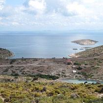 Die Bucht weiter östlich