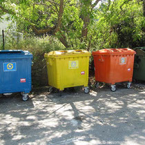 Mülltrennung auf Ikaria