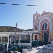 Taverne bei der Kirche Agios Spyridonas