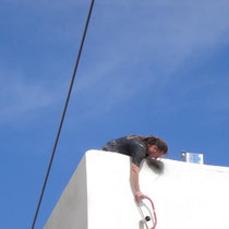 Kreta: Akrobatische Arbeit