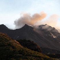 Gruß vom Vulkan