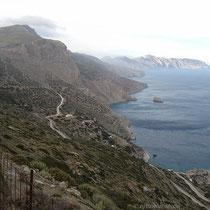 Die Südküste bei Agia Anna