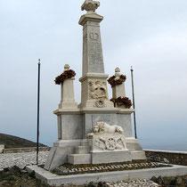 Denkmal bei Isternia