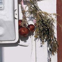 Gebinde mit Granatapfel
