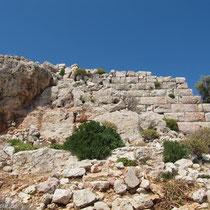Zyklopenmauer im Paleokastro