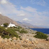 Kreta: Kapelle Sotiros Christou bei Loutro