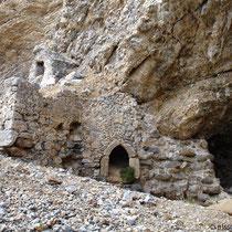 Kreta: Kapellenruine am Glyka-Nera-Strand