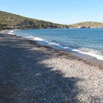 Der Strand von Plaka