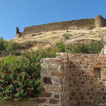 Die Burgruine von Volissos