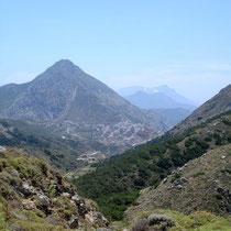 Karpathos: Blick nach Olymbos von Agios Konstantinos
