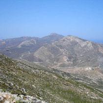 Anafi: Beim Aufstieg auf den Kalamos