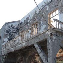 Das alte Bädergebäude