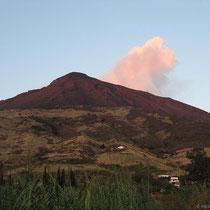 Der Vulkan raucht schon